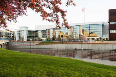 Exterior image of The Mayo Civic Center in Rochester MN