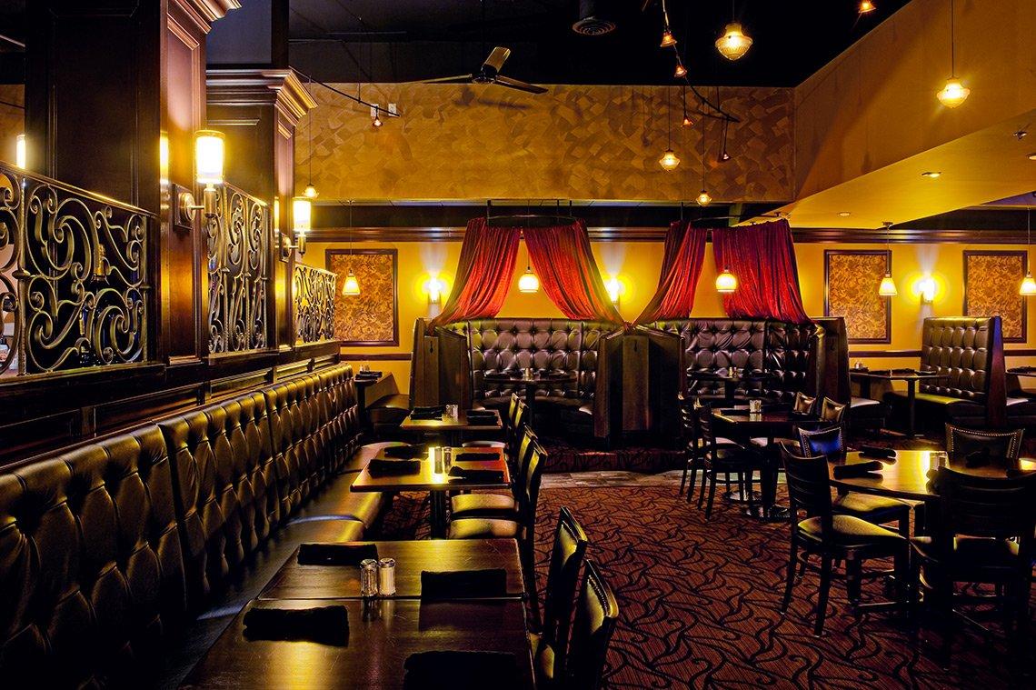 Interior image of Number Four restaurant in Mankato Minnesota