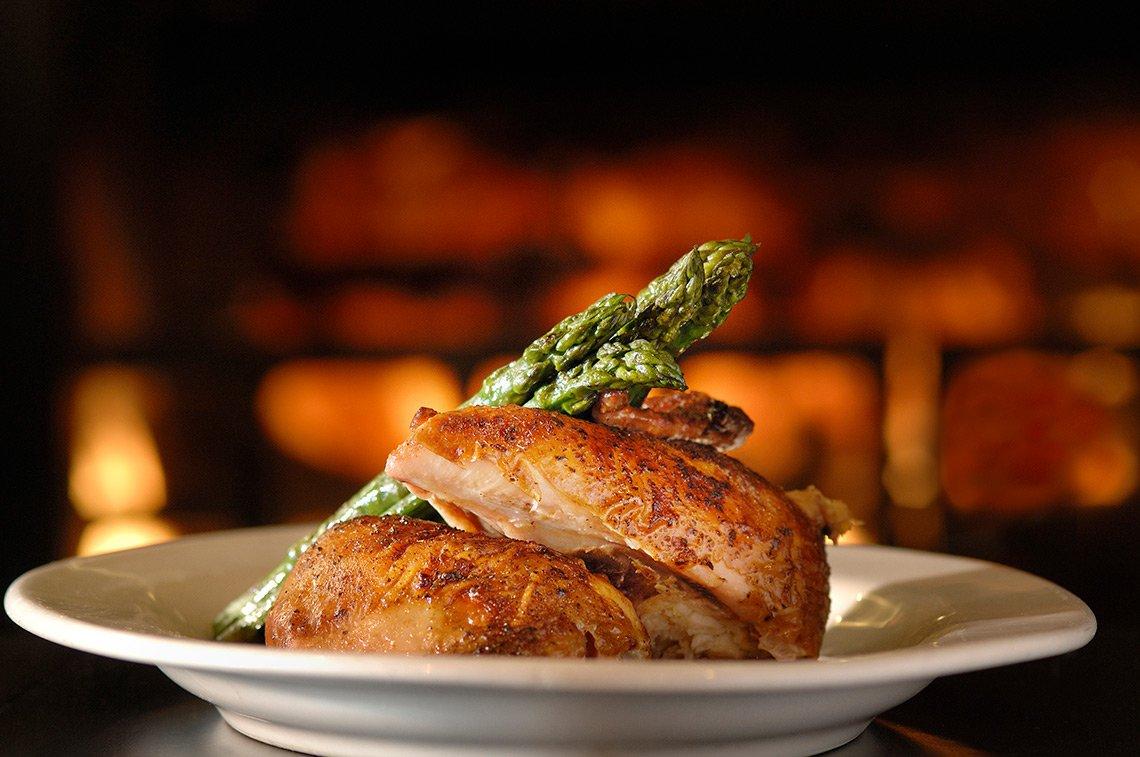 Rotisserie chicken at Chester's Restaurant in Rochester, MN