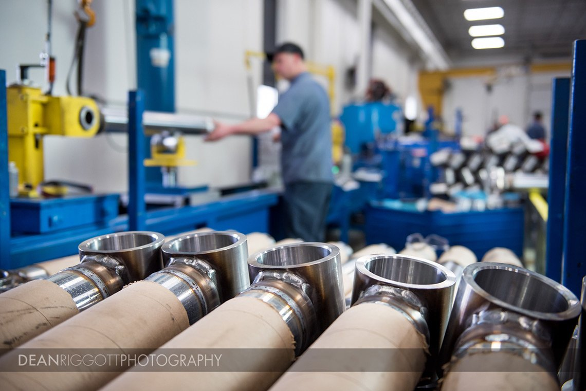 Industrial photography from Aggressive Hydraulics in Minneapolis, Minnesota.