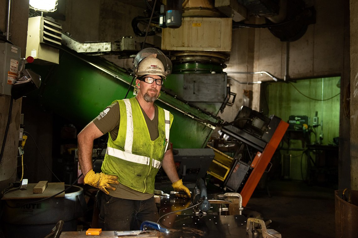 Industrial worker for Egan in St Paul Minnesota