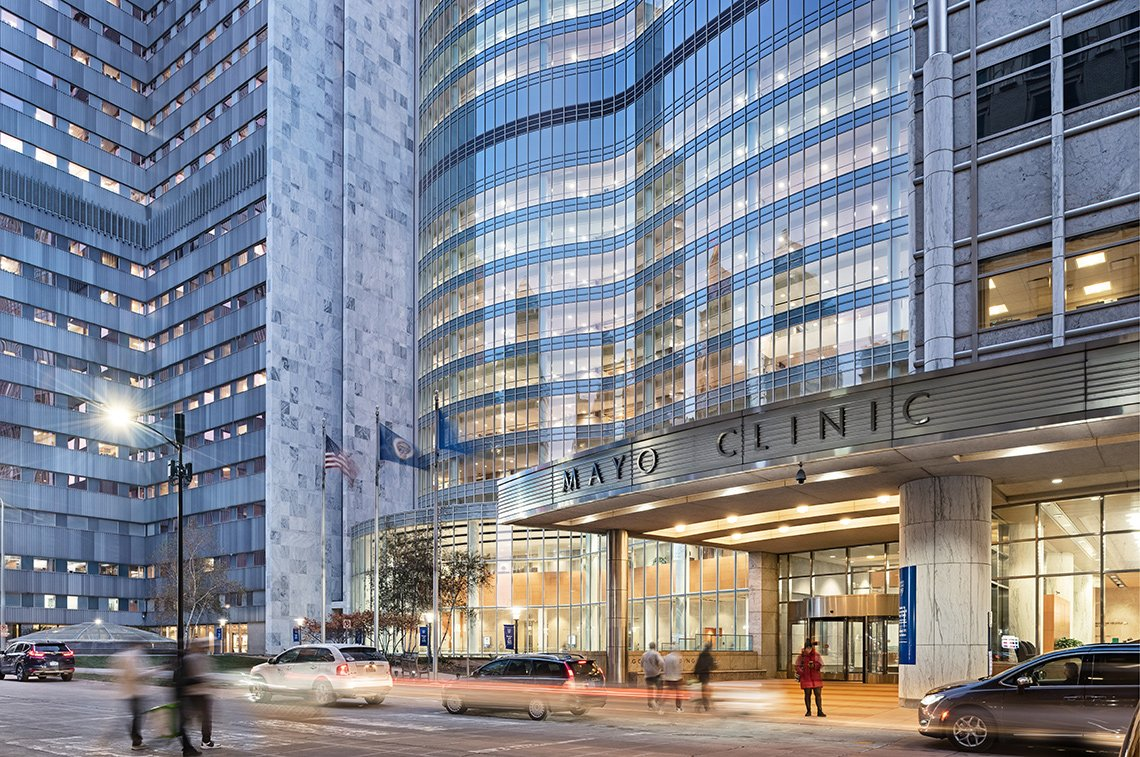 Mayo Clinic Gonda Building entrance