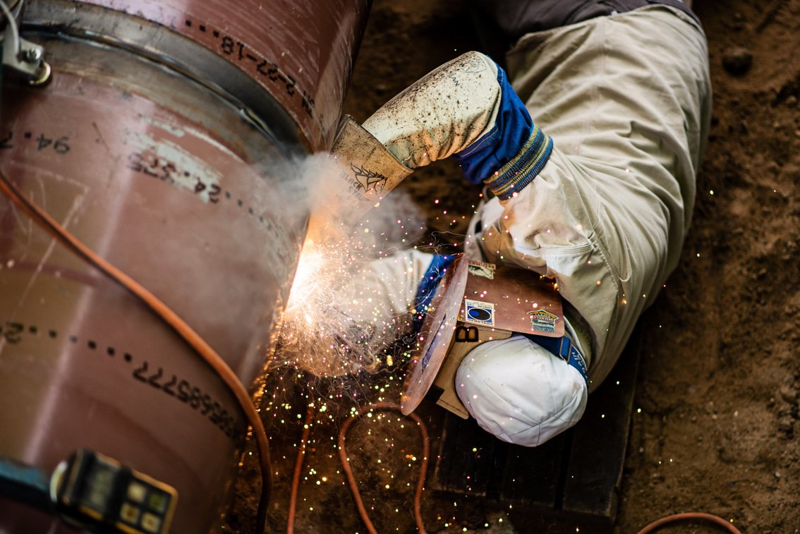Welding pipeline for Mn Limited