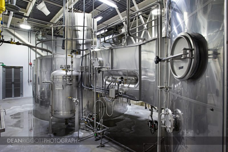 Industrial photo of complex system at food processing plant in Rochester Mn
