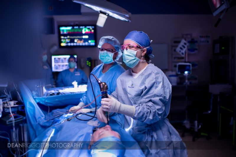 Healthcare surgery photography at Mayo Clinic in Rochester Mn