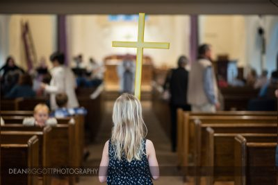 Editorial photo during service at a Minnesota church