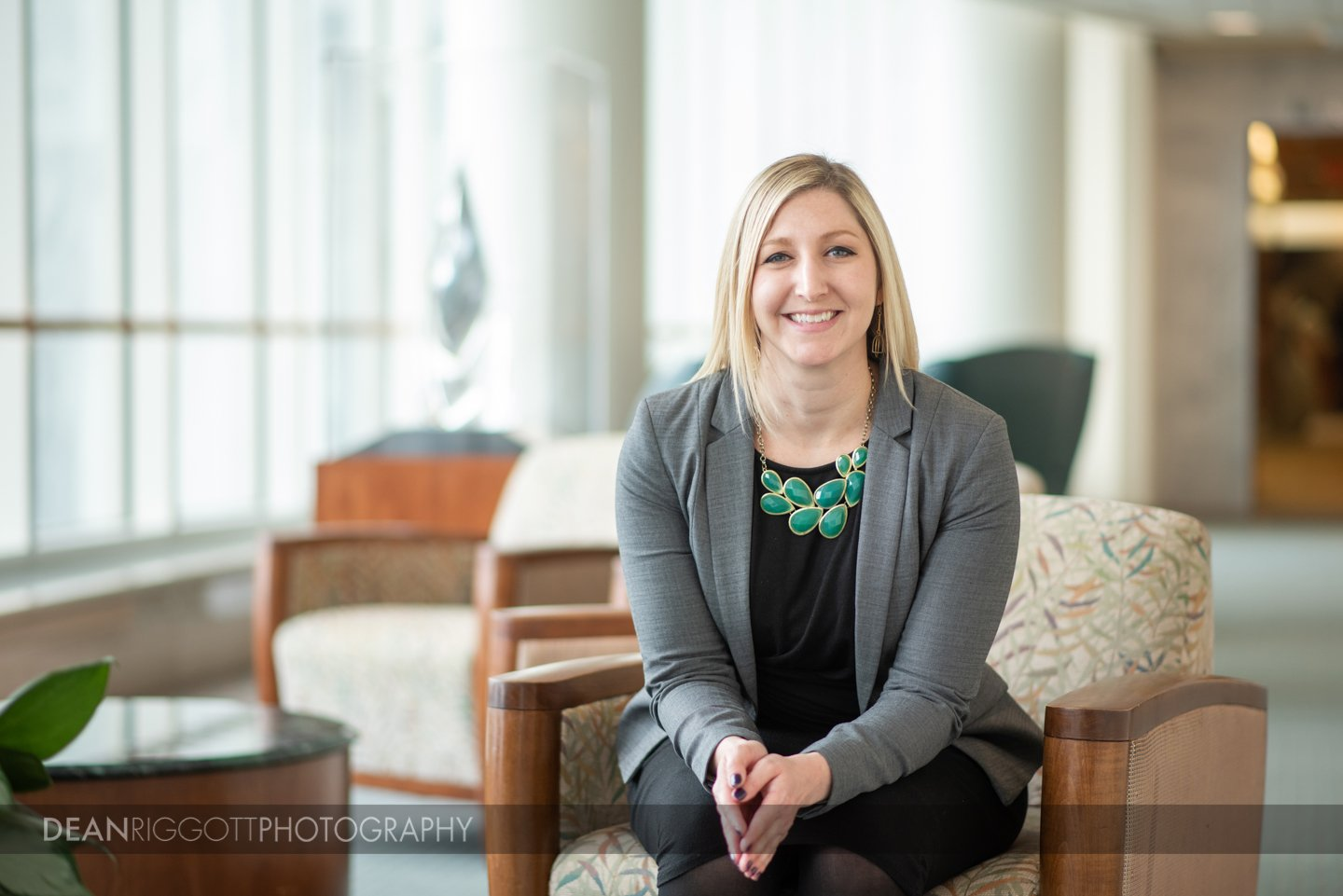 Editorial healthcare portrait at Mayo Clinic in Rochester MN