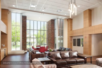 Architectural photography of Ronald McDonald House in Rochester mn