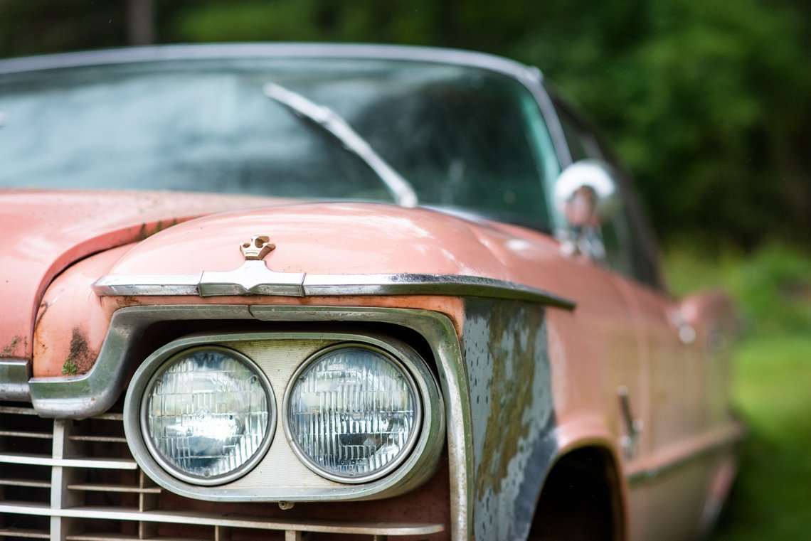 headlight of Chevrolet Imperial