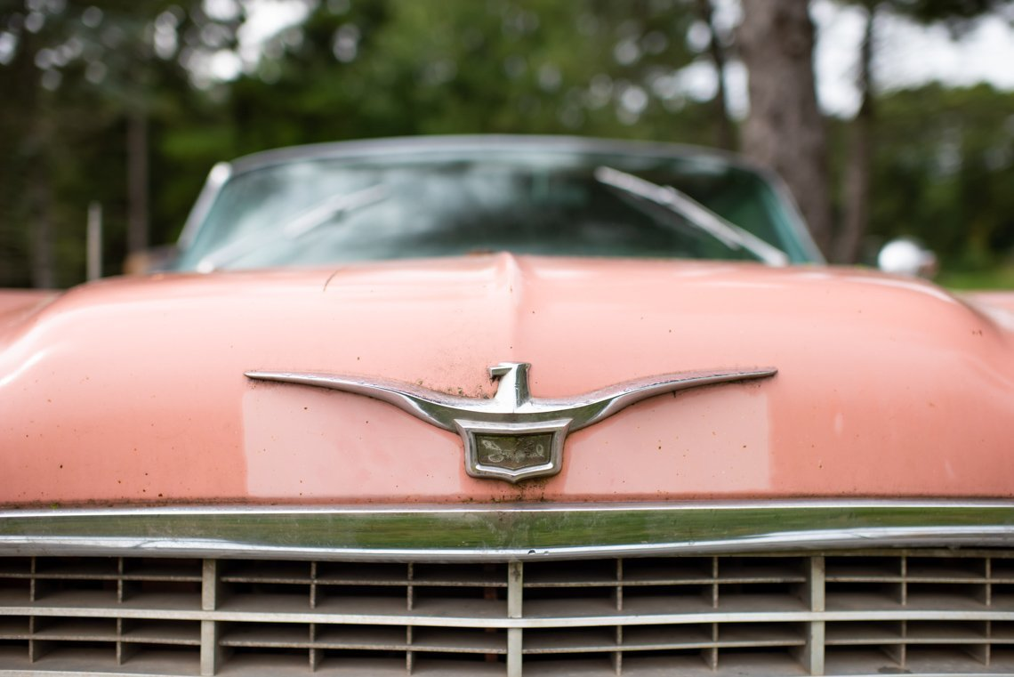 front hood of Chevrolet Imperial