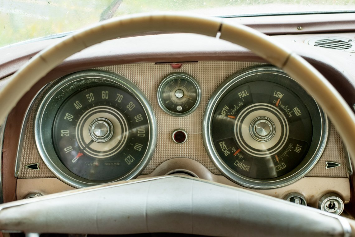 dashboard of Chevrolet Imperial