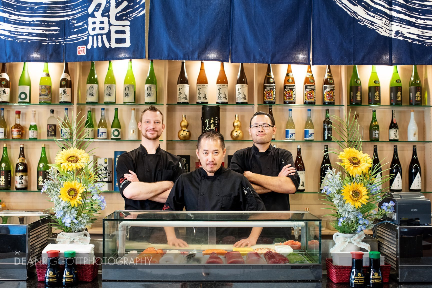 Sushi Fix chefs behind counter
